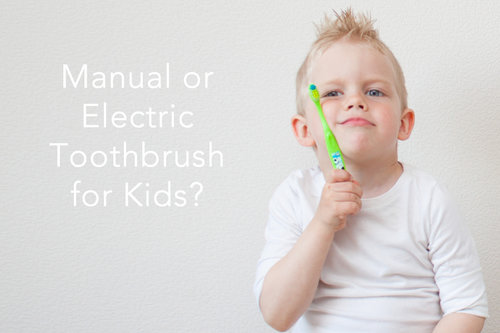 Manual or Electric Toothbrushes For Kids?